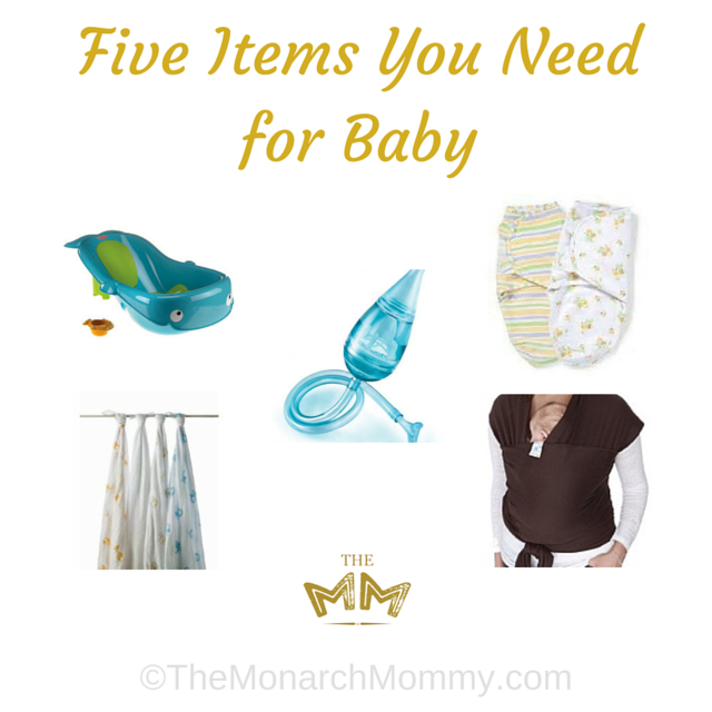 Five Items You Need for Baby