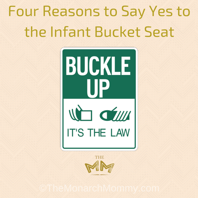 Four Reasons to Say Yes to the Infant Bucket Seat