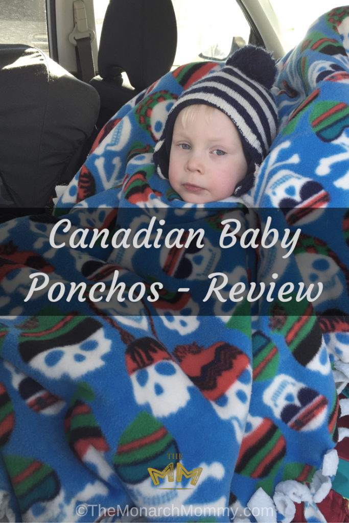 Canadian Baby Ponchos Review TheMonarchMommy Mesmerizing Car Seat Poncho Pattern