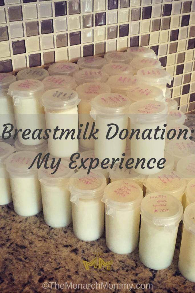 Breastmilk Donation: My Experience