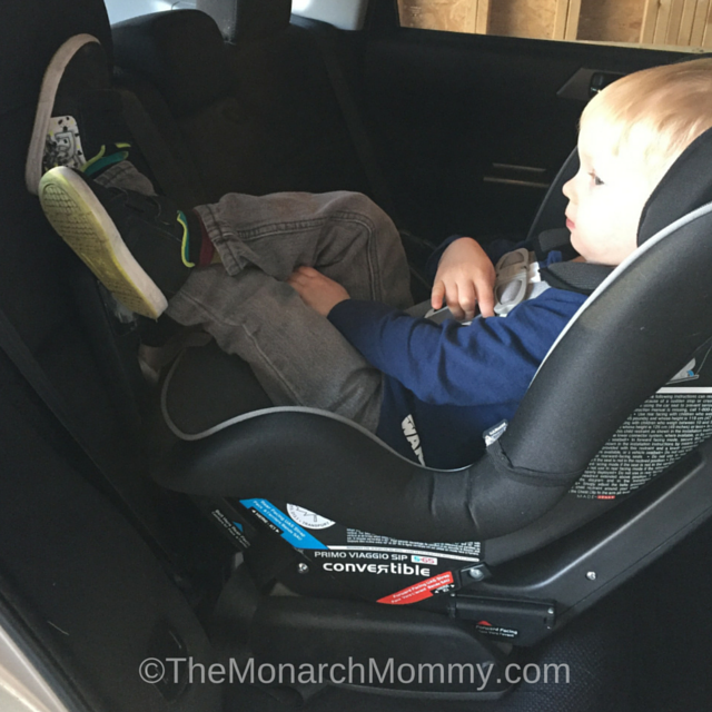 Four Reasons My Preschooler is Still Rear Facing