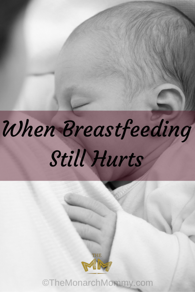 When Breastfeeding Still Hurts: Dealing with a tongue tie