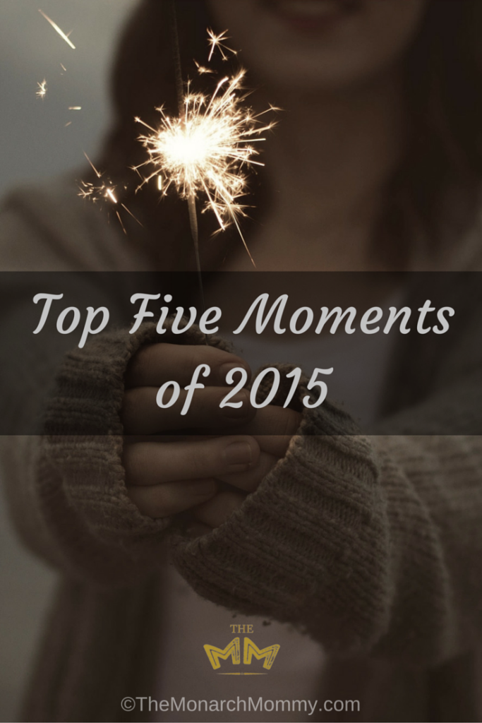 Top Five Moments of 2015