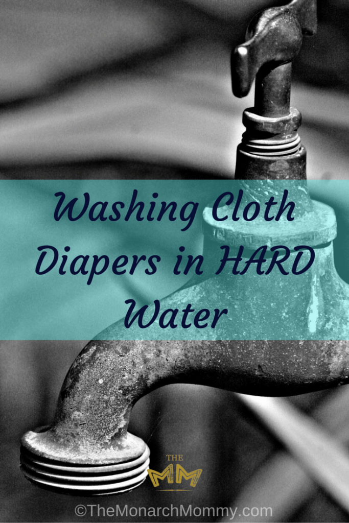 Washing Cloth Diapers in HARD Water