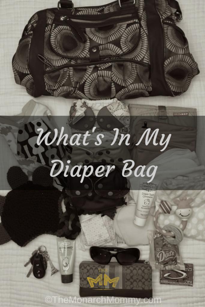 What's In My Diaper Bag