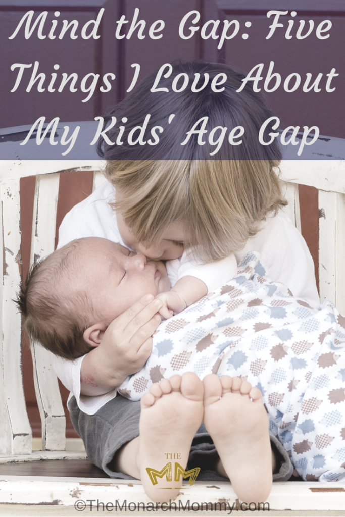 Mind the Gap: Five Things I Love About My Kids' Age Gap