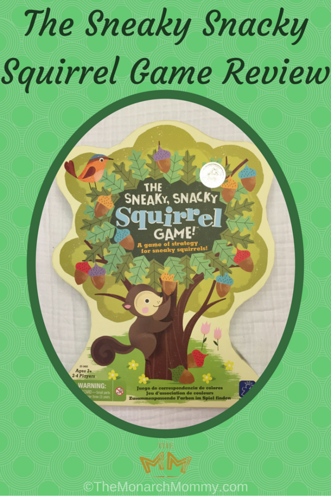 The Sneaky Snacky Squirrel Game Review