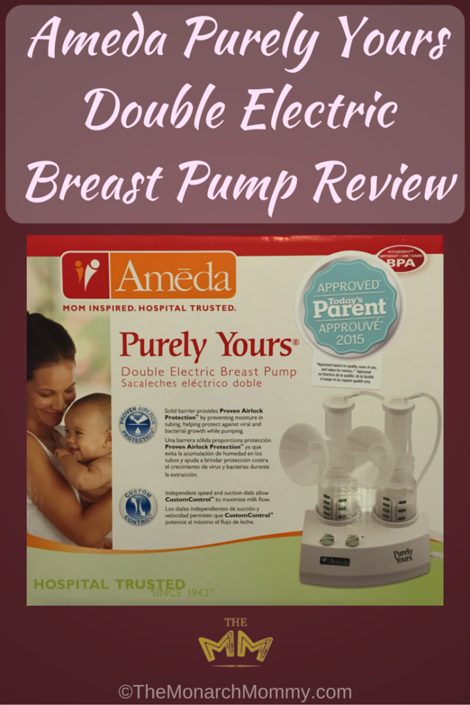 Ameda Purely Yours Double Electric Breast Pump Review