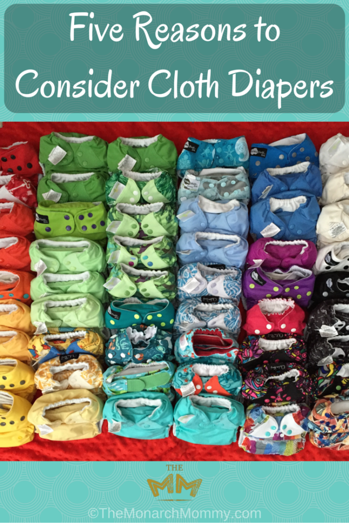 Five Reasons to Consider Cloth Diapers