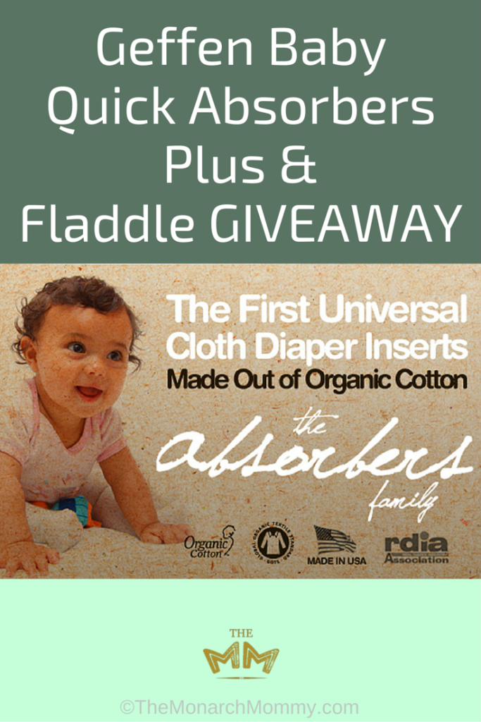 Geffen Baby Quick Absorbers Plus & Fladdle GIVEAWAY