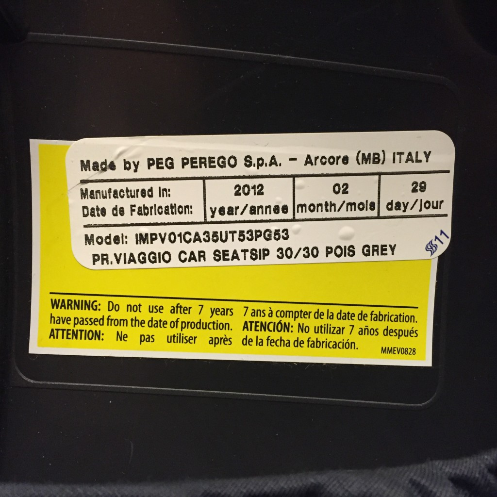 The Deal With Expired Car Seats