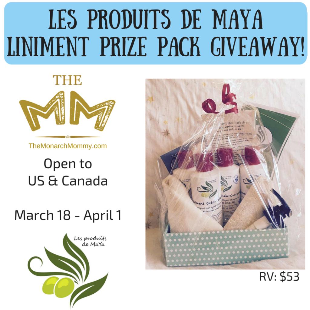 Meet Les Produits de MaYa Liniment