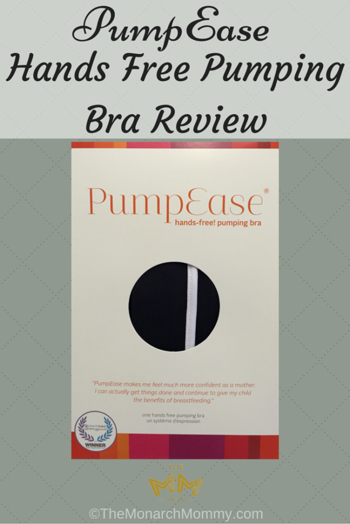 PumpEase Hands Free Pumping Bra Review