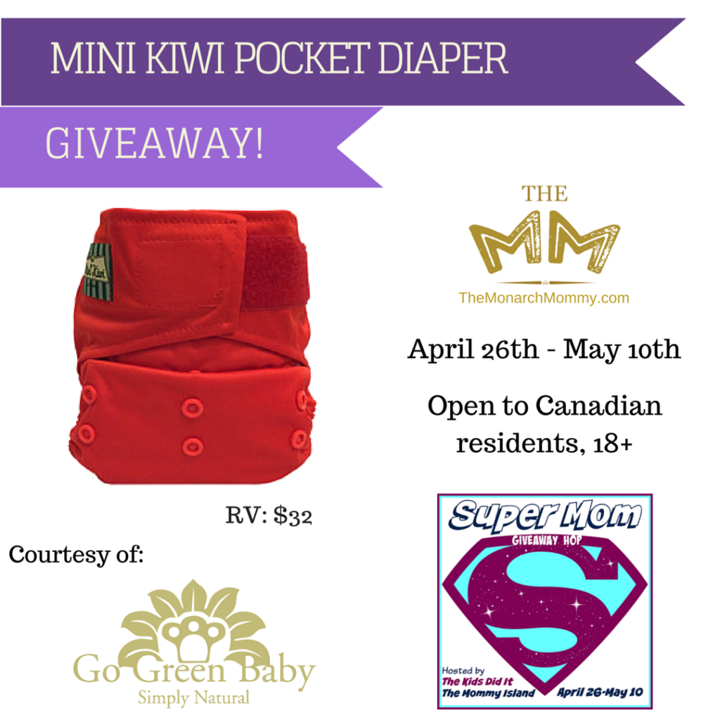 Mini Kiwi One Size Pocket Diaper Review