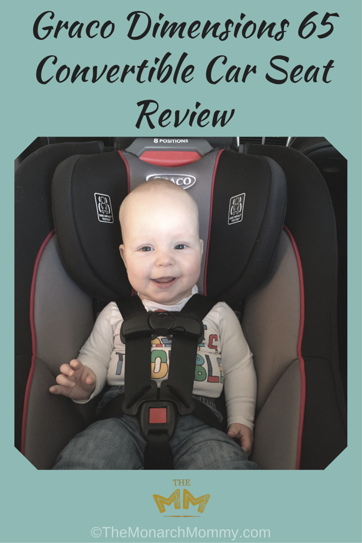 Graco Dimensions 65 Convertible Car Seat Review Themonarchmommy