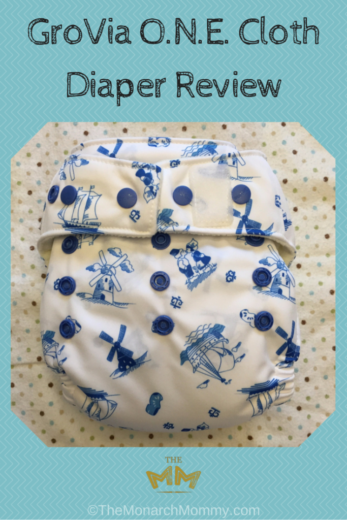 GroVia ONE Cloth Diaper Review