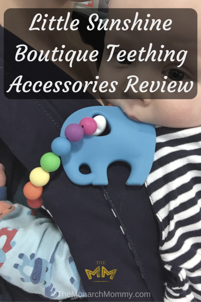 Little Sunshine Boutique Teething Accessories Review