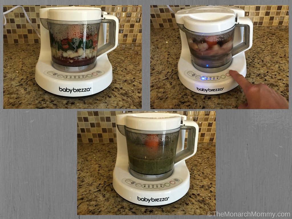 Baby Food Made Easy With Baby Brezza!