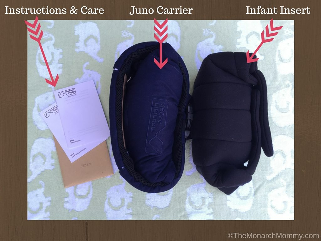 e29abfcff20 Mountain Buggy Juno Baby Carrier Review - TheMonarchMommy