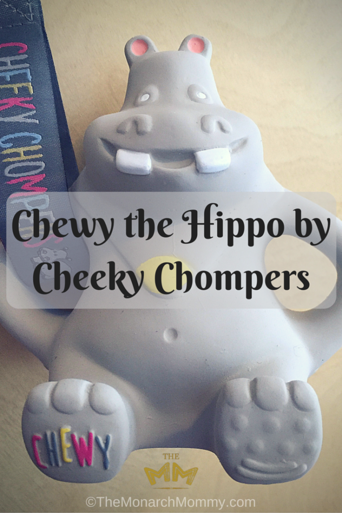 Chewy the Hippo by Cheeky Chompers