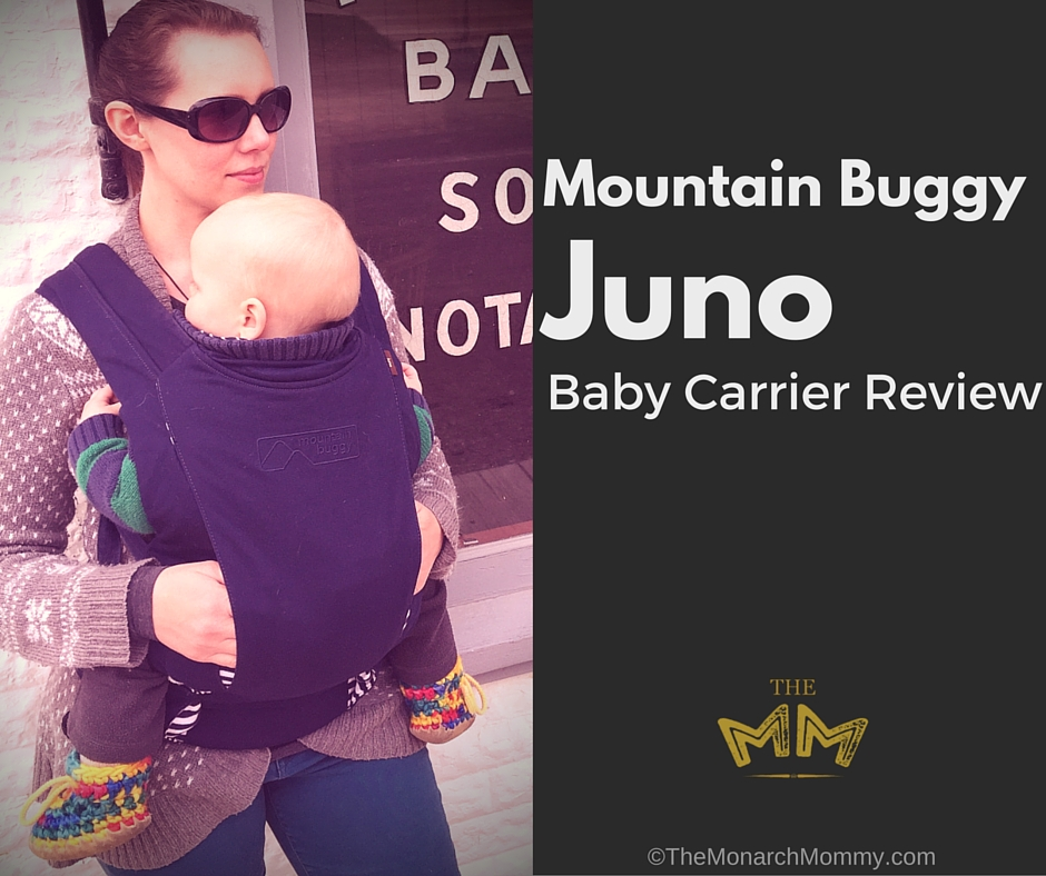 ba34a0784d8 Mountain Buggy Juno Baby Carrier Review - TheMonarchMommy