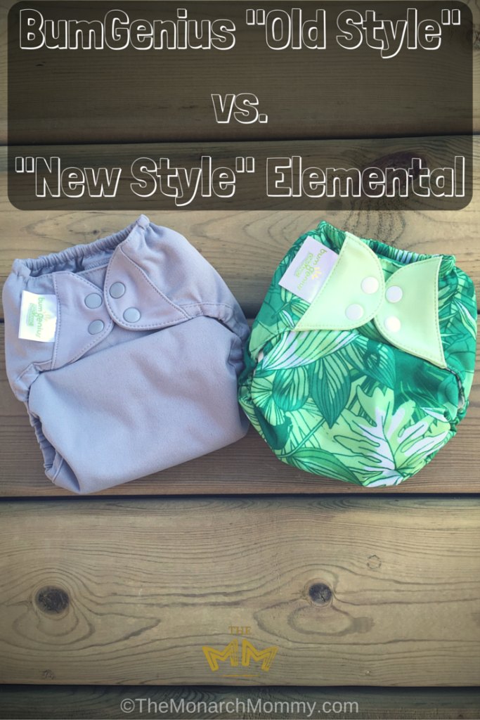 BumGenius -Old Style- vs. -New Style- Elemental