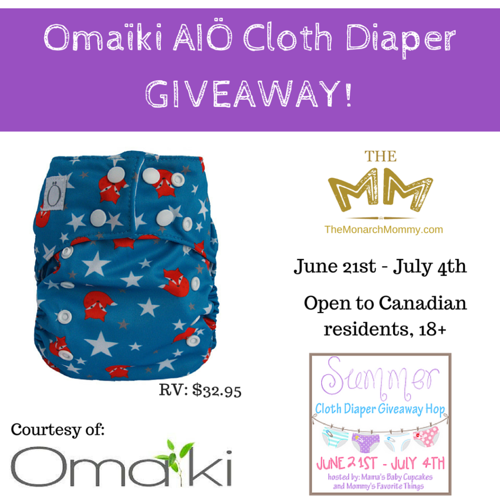 Omaïki AIÖ Cloth Diaper Review