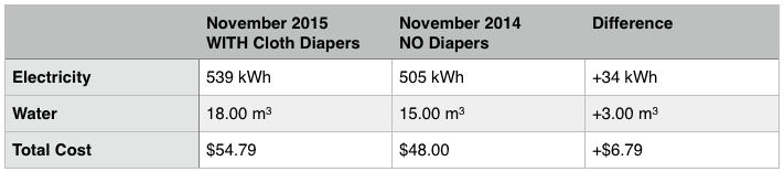 The REAL Cost of Cloth Diaper Laundry