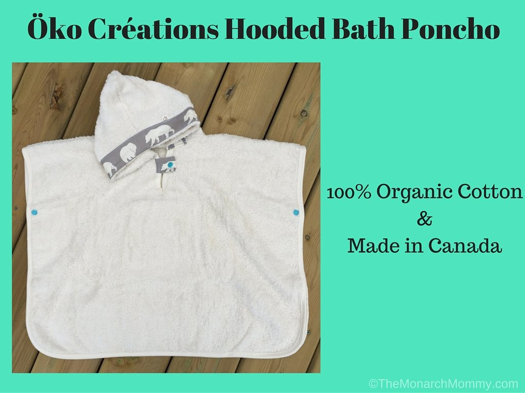 Luxury for Baby: Öko Créations' Hooded Bath Poncho