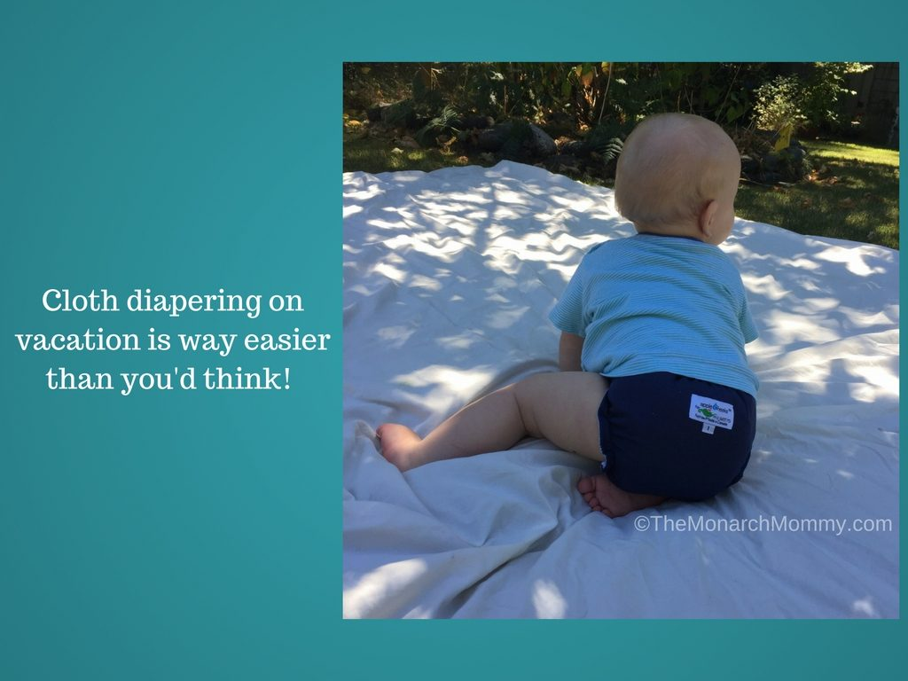 Cloth Diapers on Vacation? Yes You Can!