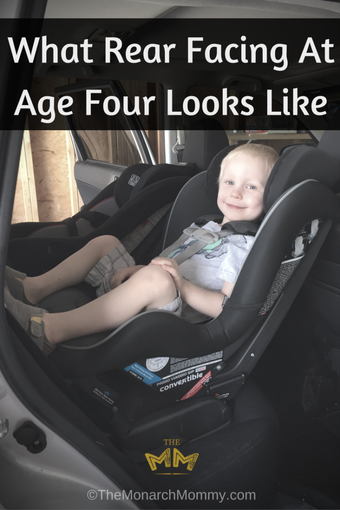 What Rear Facing At Age Four Looks Like