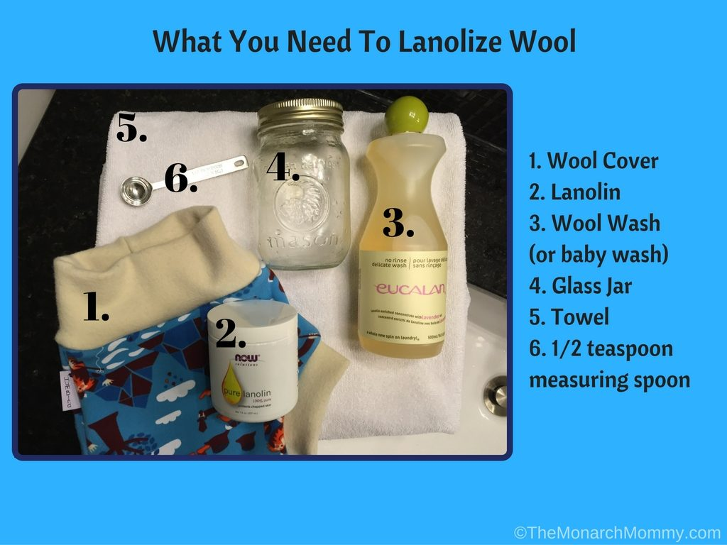 How To Lanolize Wool Covers