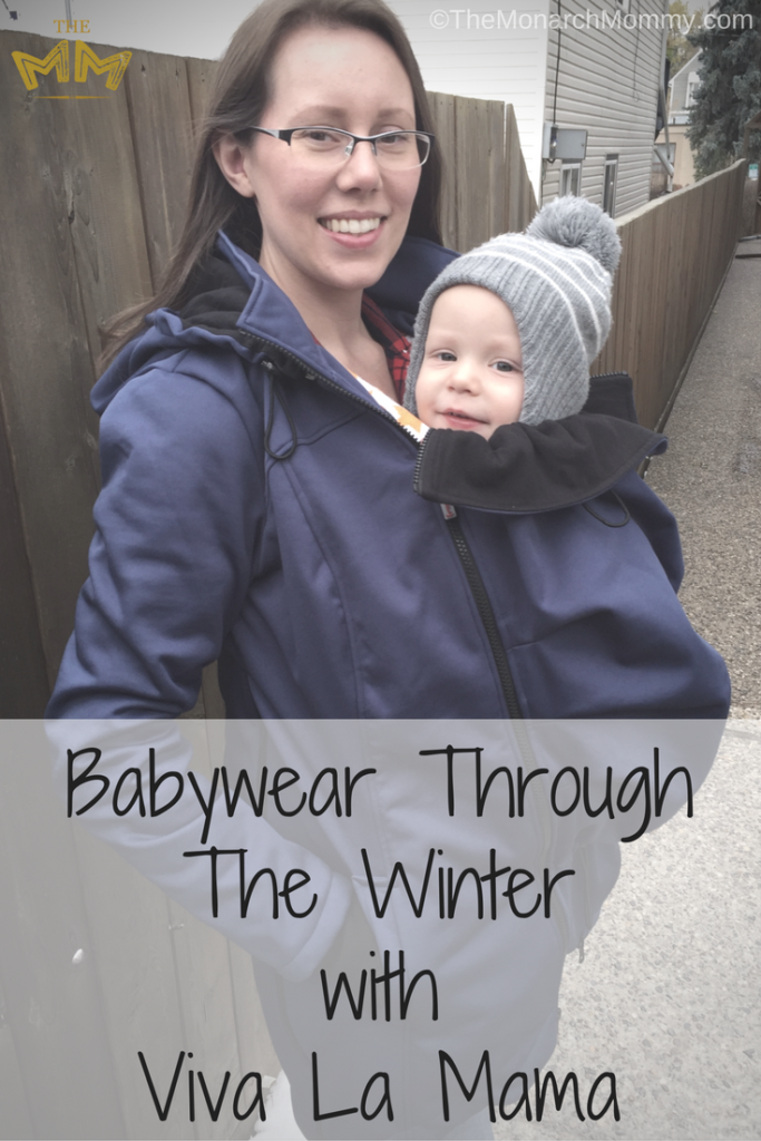 Babywear Through Winter with Viva La Mama's Bosco Babywearing Coat