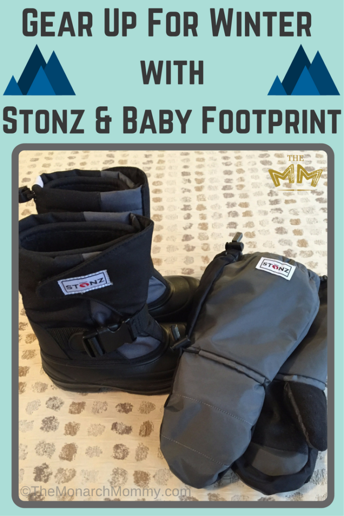 Gear Up For Winter with Stonz & Baby Footprint