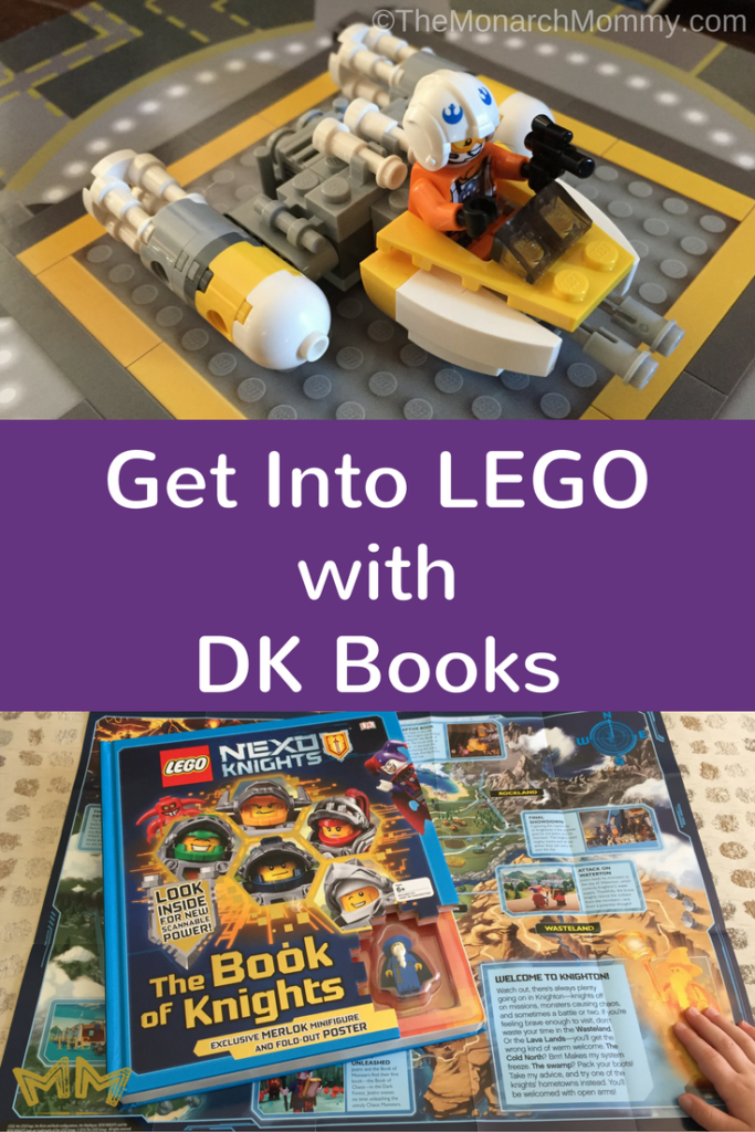 Get Into LEGO with DK Books