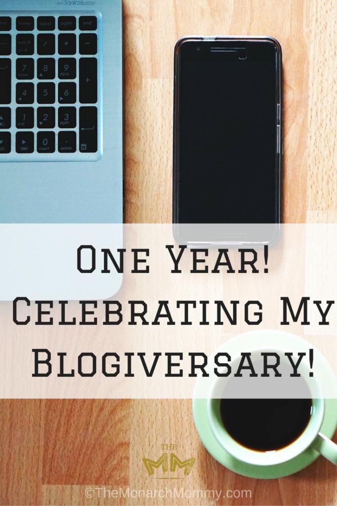 One Year! Celebrating My Blogiversary!