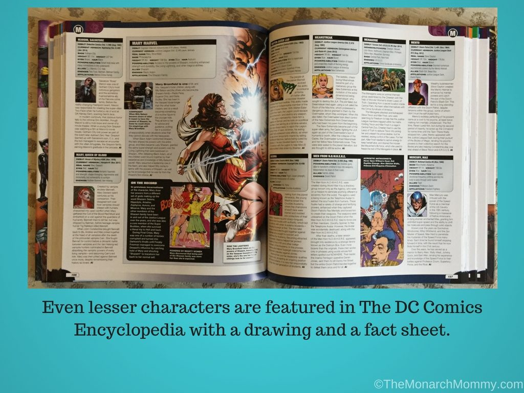 Aquaman to Wonder Woman: The DC Comics Encyclopedia