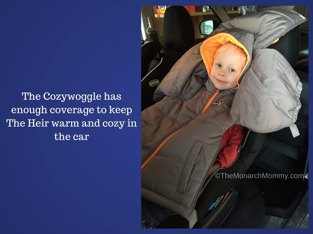 A Winter Coat That's Car Seat Safe? Meet the Cozywoggle!