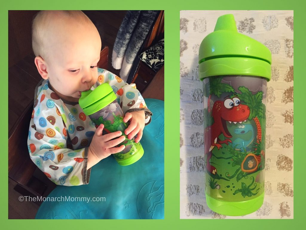 Meal Time Fun with Evenflo Sippy Cups