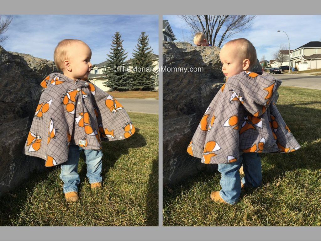 Mouse & Hatter Designs Car Seat Poncho Review