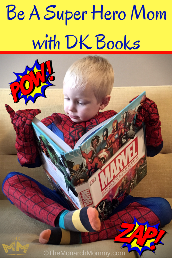 Be A Super Hero Mom with DK Books