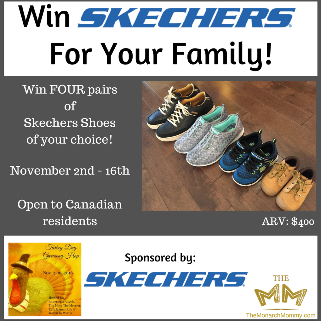 Happy Feet For The Whole Family with Skechers