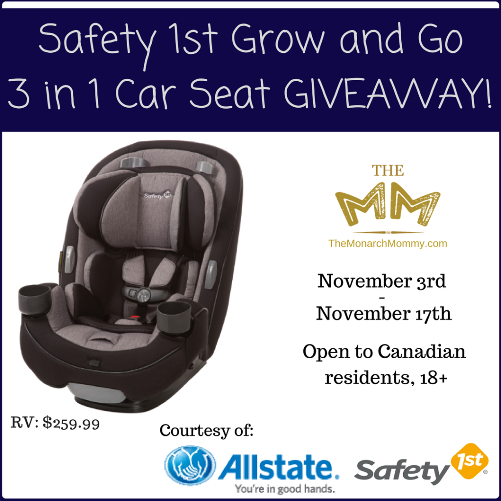 Safety 1st Grow and Go Car Seat Giveaway