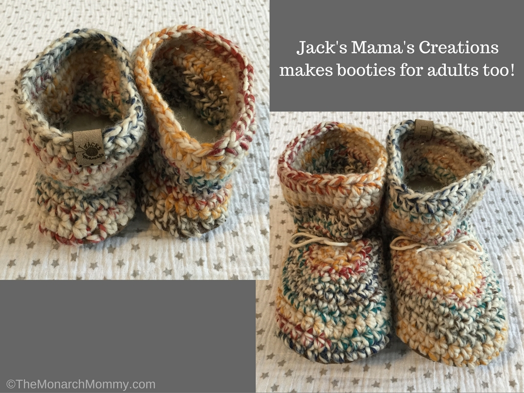 Jack's Mama's Creations Booties for Baby & Mom