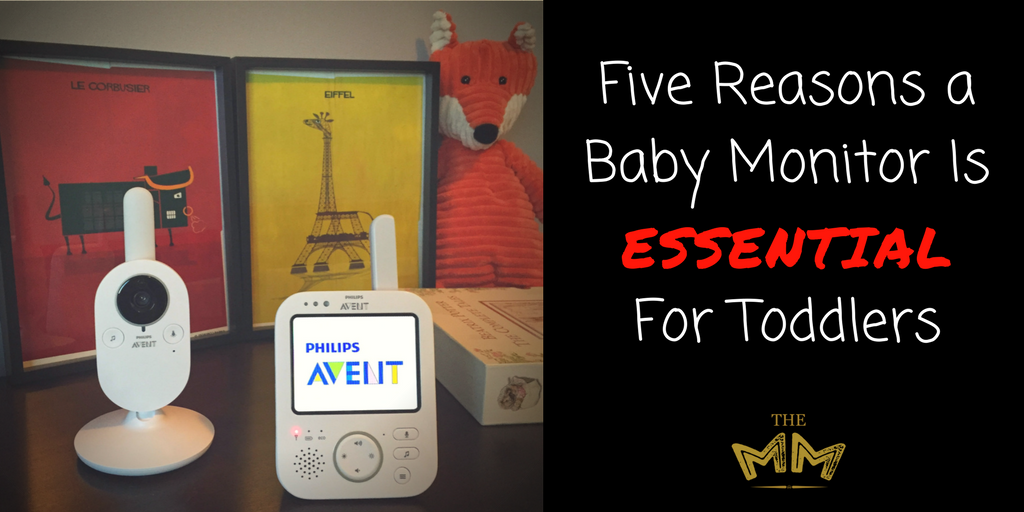 five reasons a baby monitor is essential for toddlers aventmoms themonarchmommy. Black Bedroom Furniture Sets. Home Design Ideas