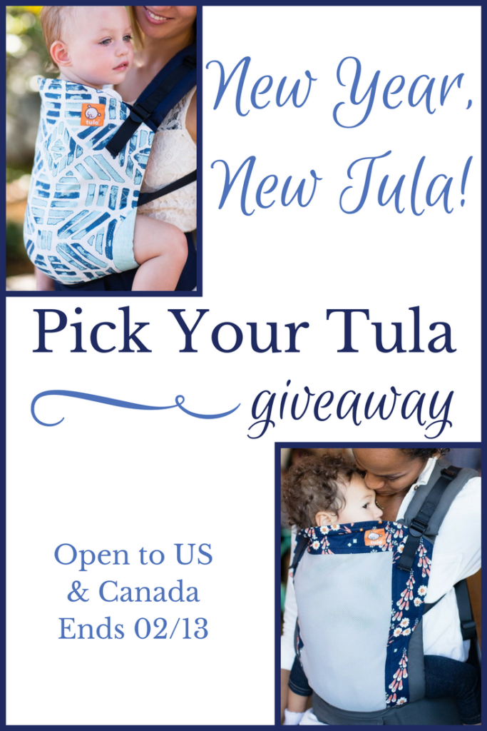 New Year New Tula Baby Carrier Giveaway