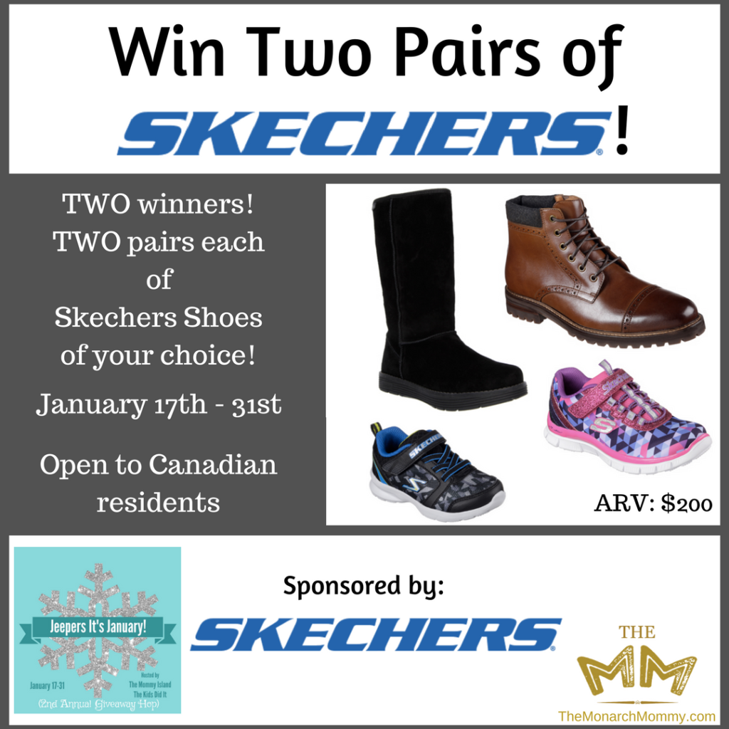 Get Outside This Winter with Skechers