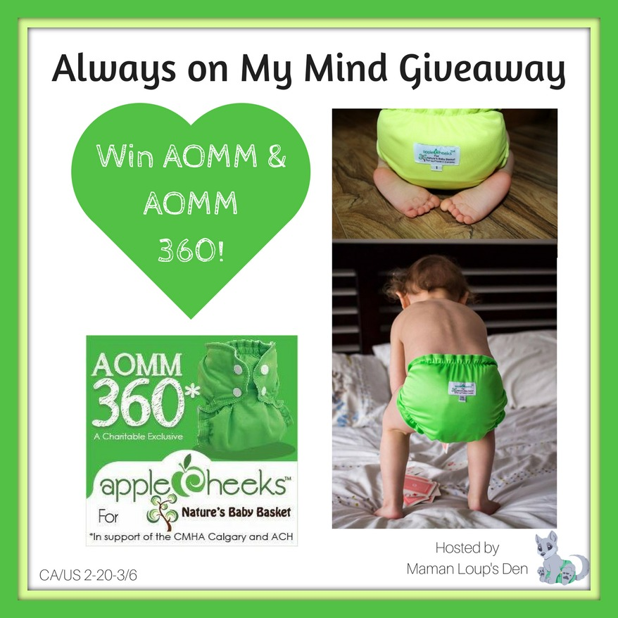 Introducing Always On My Mind 360 AppleCheeks Charity Exclusive from Nature's Baby Basket!