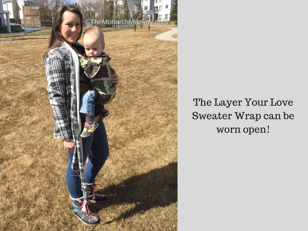 Spring Time Babywearing with Layer Your Love