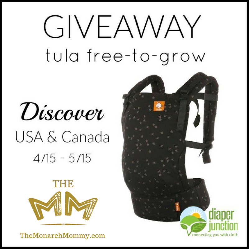 Discover Tula Free-To-Grow Baby Carrier Giveaway